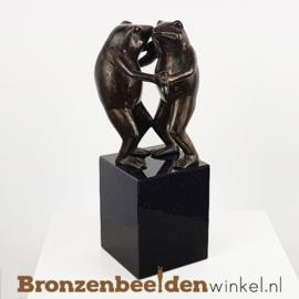 "Grappig huwelijkskado ""Dansende Kikkers"" BBW1847br"