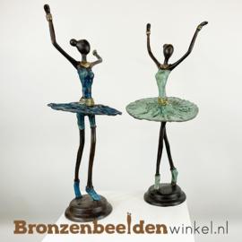 """Afrikaanse ballerina beelden set """"Groot""""  40 cm BBW009br98"""