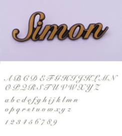 Losse letters Simon