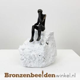 """Figuratief beeldje """"Bezinning"""" BBW005br19"""