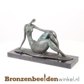 """Dikke dames beeldje """"liggende vrouw sierlijk"""" BBWFA44"""