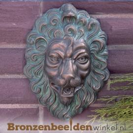 Bronzen leeuwenkop (fontein) BBWR88131
