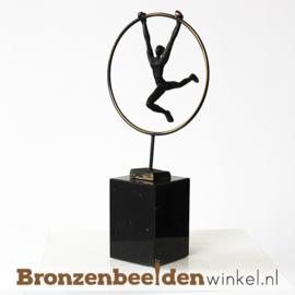"""Sportbeeldje """"De ringzwaaier"""" BBW005br36"""