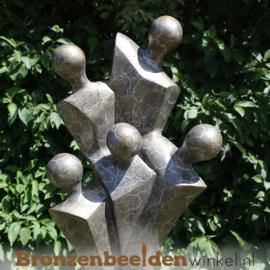 """Familie tuinbeeld """"Het Gezin"""" BBW0425br"""