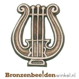 Muziekbeeldje harp BBWp35070
