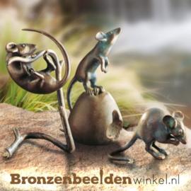 Bronzen veldmuisjes BBW37996