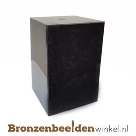 1x Marmeren sokkel 12x8x8 cm