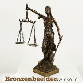 Vrouwe Justitia beeldje BBW008br10