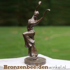 Ballerina beeldje brons BBW2399br