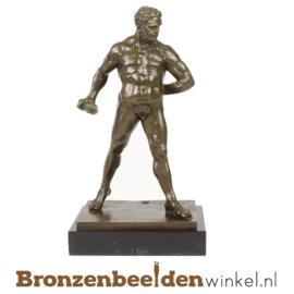 Grieks beeld Hercules brons BBWUP38