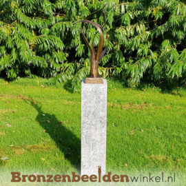 "Abstract tuinbeeld ""De Levensboom"" BBW91233br"