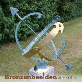 Bronzen zonnewijzer BBW0028br
