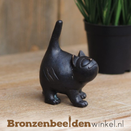 Kattenbeeldje in brons BBW1325