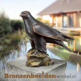 Bronzen tuinbeeld valk BBW37250