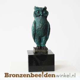 """Geslaagd beeldje """"Wijze Uil"""" BBW004br28"""