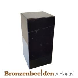 3x Marmeren sokkel 10x5x5 cm
