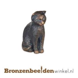 Kattenbeeldje van brons BBW85378