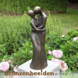 Bronzen liefdespaar tuinbeeld BBW1637br