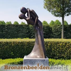 "Liefdes kado ""Omhelzing"" brons BBW1541br"