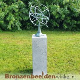 NR 8 | Cadeau man 55 jaar ''Moderne zonnewijzer''BBW0107br