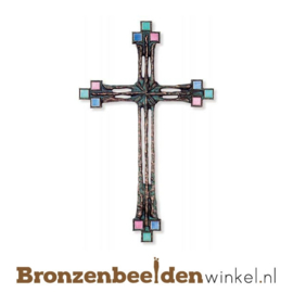 Bronzen kruis BBW60079