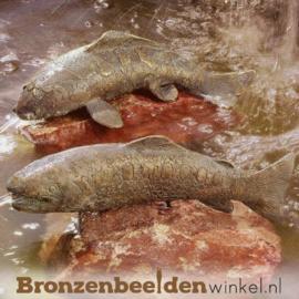 Bronzen Koi Karpers beeld BBWR88034