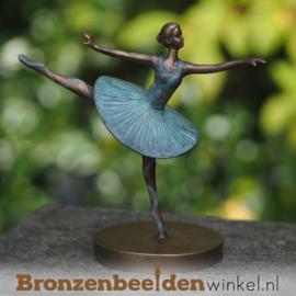 Beeldje ballerina brons BBW2346br