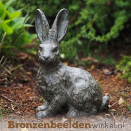 Bronzen beeld konijn BBW1308br