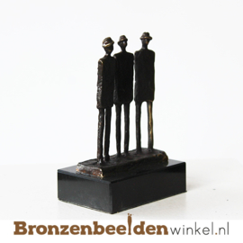 """Vriendsschap beeldje """"De drie heren"""" BBW004br85"""