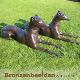 Bronzen beeld hond Doberman Pinscher BBW538