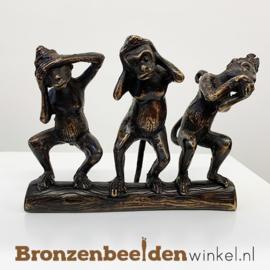Horen zien en zwijgen aapjes - bbw008br10
