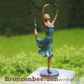 Ballerina beeld brons BBW1265