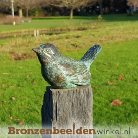 Vogel beeldje in brons BBW1320
