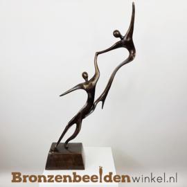 """Groot bruiloft cadeau """"Swingende Geliefden"""" BBW001br11"""