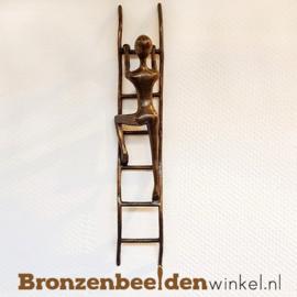 """Beeld voor aan de wand """"De Beklimming"""" BBWFHDB"""