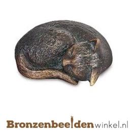 Kattenbeeldje van brons BBW85377