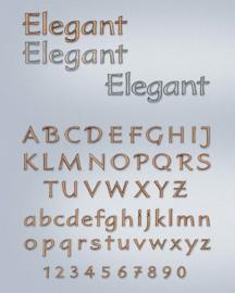 Losse letters Elegant