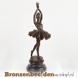 Ballerina beeldje brons BBWFA86