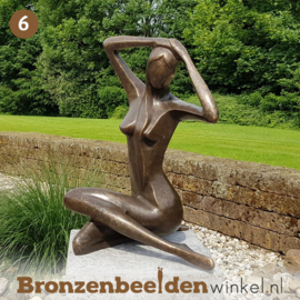 NR 6 | 75 jaar verjaardagscadeau ''Vrouw abstract'' BBW1189br