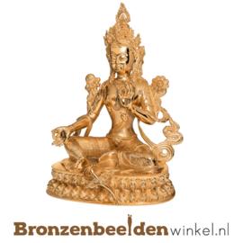 "Bronzen Boeddha beeld ""Tara"" BBW37262"