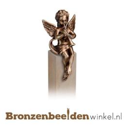 Engelen beeldje brons BBW85396