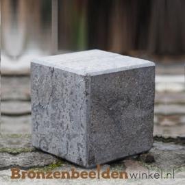 Hardsteen sokkel 15x15x15 cm