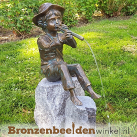 "Tuinbeeld ""Hans met fluit"" BBWR88137"
