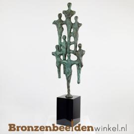 """Sculptuur """"Samen stijgen naar grote hoogte"""" BBW007br22"""