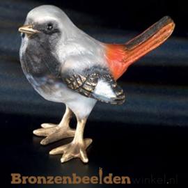 Bronzen vogeltje in kleur BBWF6536fa05