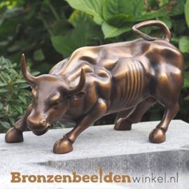 "Bronzen beeld stier ""Charging Bull"" New York"