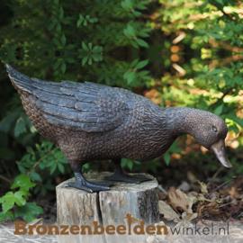 Bronzen beeld eend BBW1232br