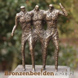 """Bronzen tuinbeeld """"De Drie Heren"""" BBW1976"""