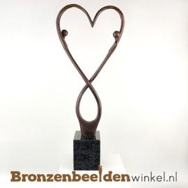 """Groot bruiloft cadeau """"Eeuwige liefde"""" BBW007br24"""