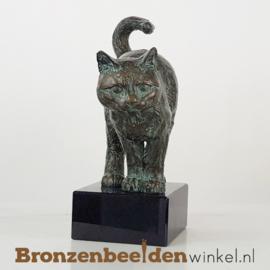 Kattenbeeldje op sokkel BBW37212